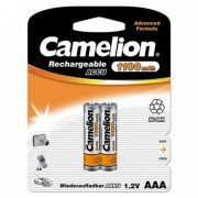 Lot de 2 accus AAA (HR03) NiMH 1,2V 1100 mAh Camelion