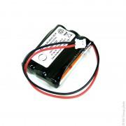 Batterie alcaline 3x AAA 3S1P 4.5V 1.46Ah PHR-2