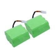 Batterie aspirateur (2 x batteries) 7.2V 3.5Ah