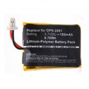 Batterie lecteur codes barres 3.7V 190mAh