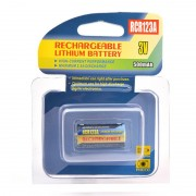 Batterie appareil photo RCR123 3V 500mAh (rechargeable)