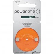 Pile auditive rechargeable 13A power one 1.2V 28mAh