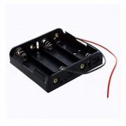 Coupleur de piles 4 x LR06 avec fil