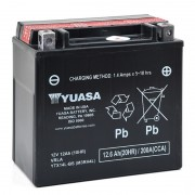 Batterie moto YUASA YTX14L-BS 12V 12Ah