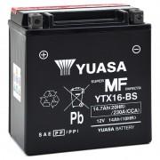 Batterie moto YUASA YTX16-BS 12V 14Ah