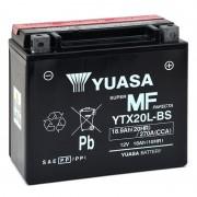 Batterie moto YUASA YTX20L-BS 12V 18Ah