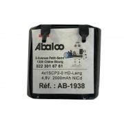 Akku NiCd 4x1SCP2-0-Lang  (4,8V - 2Ah)