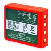 Batterie télécommande de grue HBC 3.6V 2200mAh