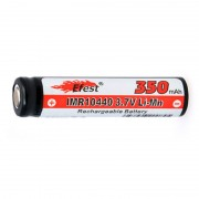 Accus Lithium-Ion IMR10440 V1 (AAA) Li-Mn 3.7V 350mAh FT
