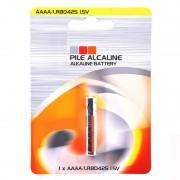 Pile alcaline  LR61 - AAAA 1.5V 625mAh - Blister x1