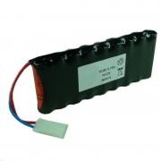 Batterie Nicd 9x AA 9S1P ST1 10.8V 700mAh AMP