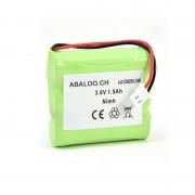 Batterie bloc secours 3*AA 3.6V 1500mAh Connecteur
