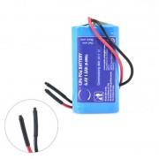 Batterie Lithium Fer Phosphate 2S1P IFR18650 + PCM (9.6Wh) 6.4V 1.5Ah