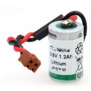 Batterie automate 1x 1/2AA 1S1P 3.6V 1.2Ah JAE