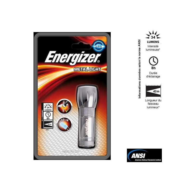 3aaa Lampe 3aaa Energizer Torche Torche Lampe 3aaa Metal Torche Energizer Lampe Metal Metal XuPOkZiT