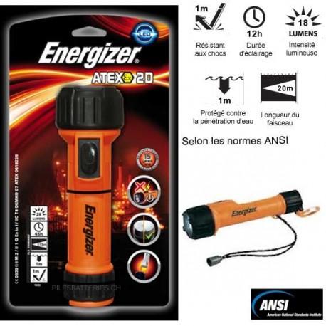Torche ATEX 2D Energizer