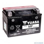 Batterie moto YUASA YTX9-BS 12V 8Ah