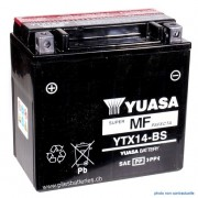 Batterie moto YUASA YTX14-BS 12V 12Ah