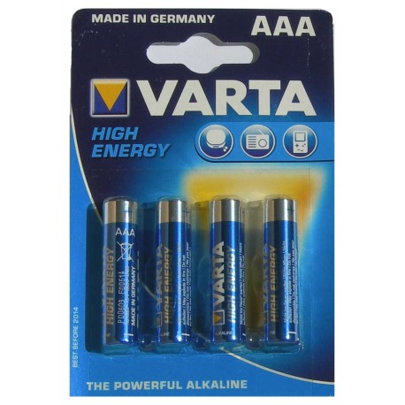 LR03 - AAA -  Varta Hight Energy