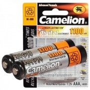 Lot de 4 accus AAA (HR03) NiMH 1,2V 1100 mAh Camelion